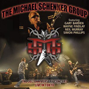 Michael Schenker Group альбом Live In Tokyo - The 30th Anniversary Concert
