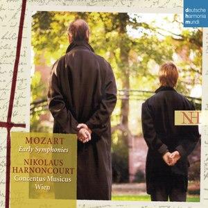 Nikolaus Harnoncourt альбом Mozart: Early Symphonies