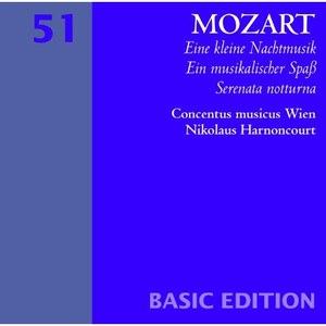 Nikolaus Harnoncourt альбом Mozart : Serenades Nos 6 & 13, 'Serenata notturna' & 'Eine kleine Nachtmusik'