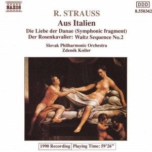 Richard Strauss альбом STRAUSS, R.: Aus Italien / Die Liebe der Danae