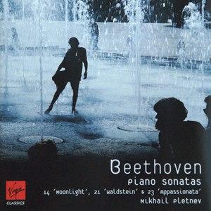 Mikhail Pletnev альбом Beethoven: Piano Sonatas 14 'Moonlight', 21 'Waldstein' & 23 'Appassionata'