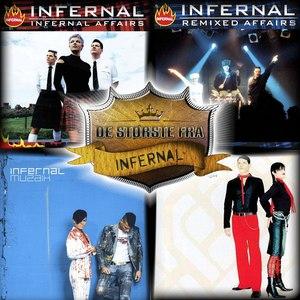 Infernal альбом De Første Fra - Infernal