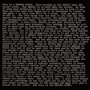 XTC альбом Go 2