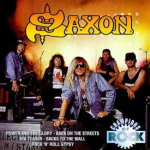 Saxon альбом Champions of Rock