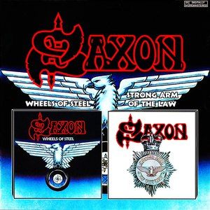 Saxon альбом Wheels Of Steel/Strong Arm Of The Law