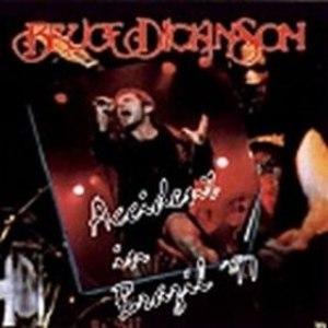 Bruce Dickinson альбом Accident in Brazil