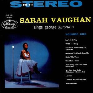 Sarah Vaughan альбом Sarah Vaughan Sings George Gershwin