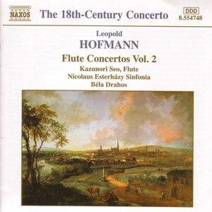 Leopold Hofmann альбом Hofmann: Flute Concertos, Vol. 2