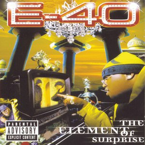 E-40 альбом The Element Of Surprise