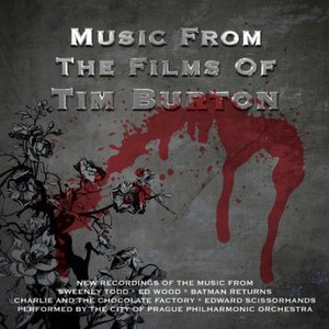 The City Of Prague Philharmonic Orchestra альбом Music from the Films of Tim Burton