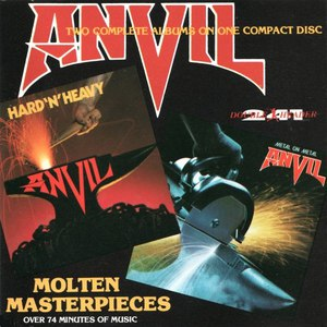 Anvil альбом MOLTEN MASTERPIECES