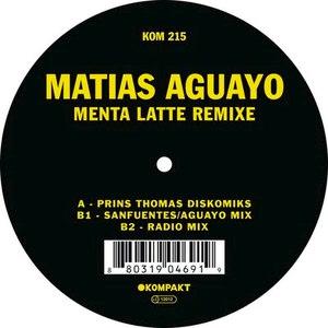 Matias Aguayo альбом Menta Latte Remixe