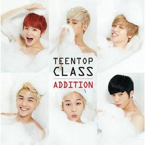 TEEN TOP альбом TEEN TOP CLASS ADDITION