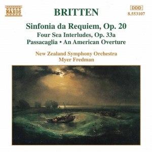 Benjamin Britten альбом BRITTEN: Sinfonia da Requiem, Op. 20 / 4 Sea Interludes