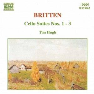 Benjamin Britten альбом BRITTEN: Cello Suites Nos. 1-3