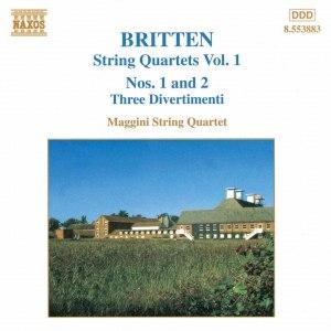 Benjamin Britten альбом BRITTEN: String Quartets Nos. 1 and 2 / Three Divertimenti