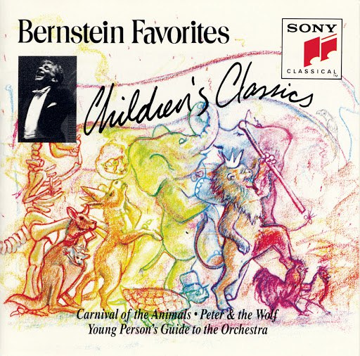 Leonard Bernstein альбом Bernstein Favorites: Children's Classics