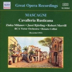 Pietro Mascagni альбом MASCAGNI: Cavalleria Rusticana (Milanov, Bjorling) (1953)