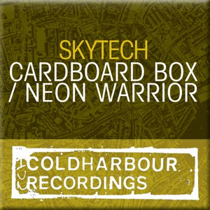 Skytech альбом Cardboard Box / Neon Warrior