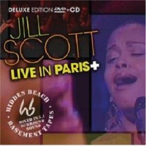 Jill Scott альбом Live In Paris