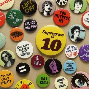Supergrass альбом Supergrass Is 10 - The Best Of 94-04