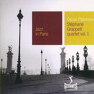 Oscar Peterson альбом Jazz In Paris - Stephane Grappelli Quartet Vol.1