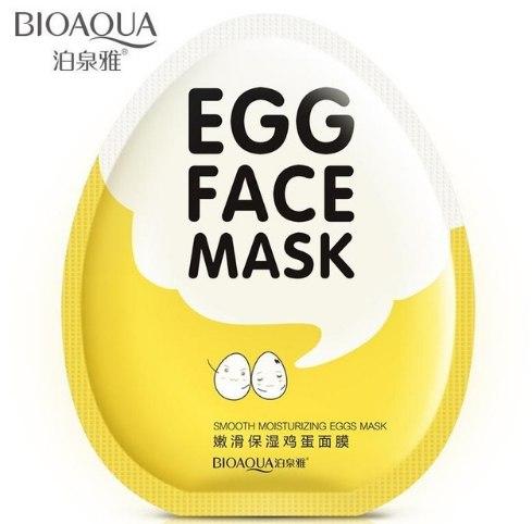 Маска для лица из яйца за 080