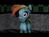 Five nights at ajs 2 - Game Over [REMAKE] [MLP SFM] Rus