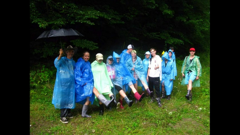Геологічна практика в Украінських Карпатах (част. 2 -Після Польщі)