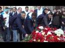 «Нас не сломить!»: зенитовцы отправились к мемориалу на «Технологическом институте» на метро
