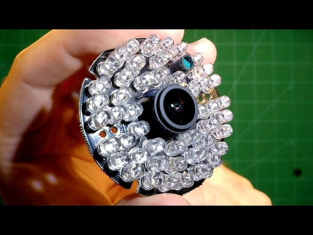 RunCam Owl: Pitch-Black Ghost Hunting with IR LED Ring!