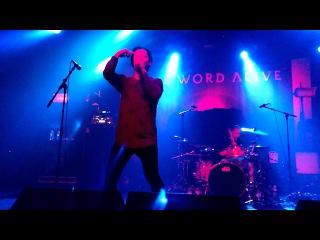 The Word Alive - Misery (Live debut) @ Antwerp, Belgium 28/02/2017
