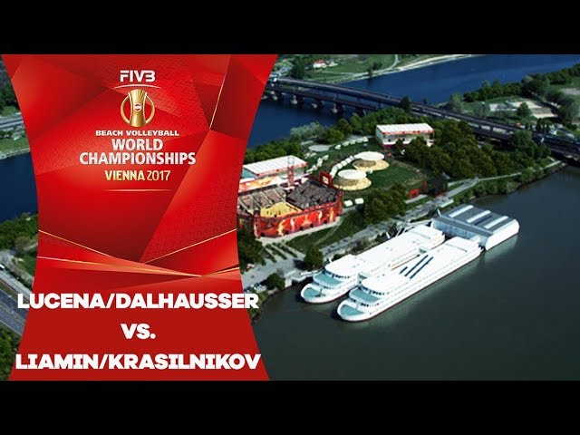 LucenaDalhausser (USA) v LiaminKrasilnikov (RUS) - FIVB Beach Volley World Champs
