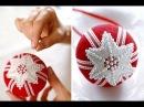 Все виды новогодних шаров, которые можно сделать своими руками. МК.