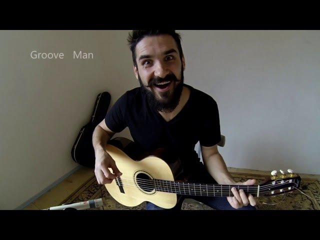 Norah Jones - Don't Know Why (fingerstyle guitar cover by Groove Man)