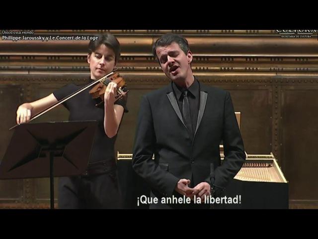 Philippe Jaroussky sings Haendel in Mexico - Le Concert de la Loge