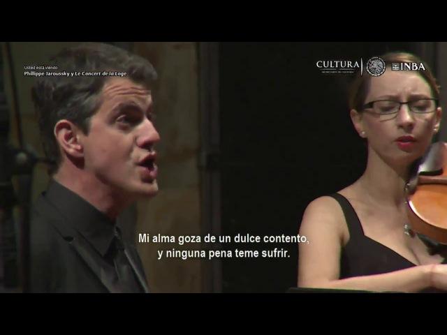 Philippe Jaroussky y Le concert de la loge 1