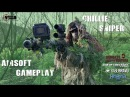 Camouflage Airsoft Sniper Ghillie - Nuke 2016 Milsim - Scopecam Gameplay