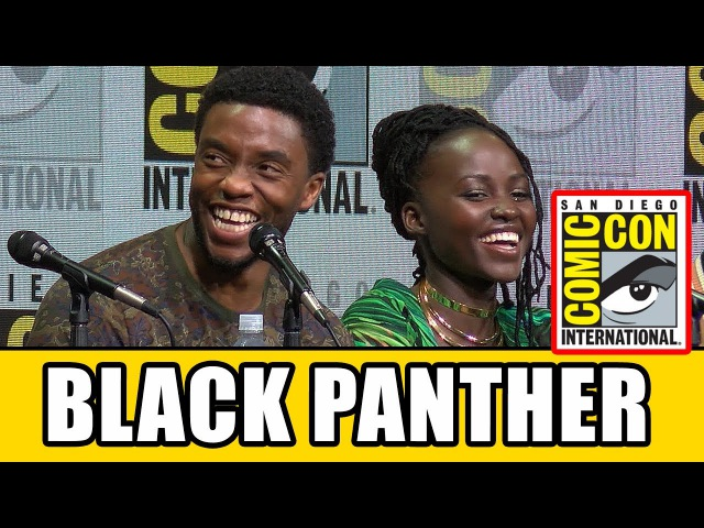 BLACK PANTHER Comic Con Panel News Highlights
