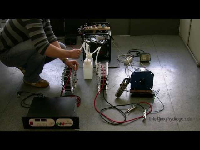 HHO на генераторе закольцовка