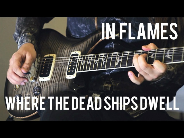 Where The Dead Ships Dwell - In Flames - by Roman Skorobagatko Paul Smith