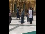 FANCAMS 170613 CL гуляет по Shwedagon Pagoda в Мьянме