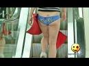 Голые и Смешные. Помогите! Сорвало юбку!