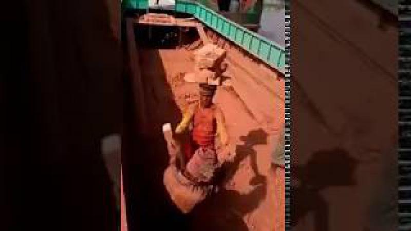 Невероятно.. Индусы на стройке / how Indians can build