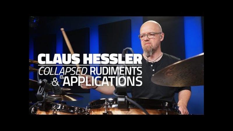 Claus Hessler: Collapsed Rudiments Applications - FULL DRUM LESSON (Drumeo)