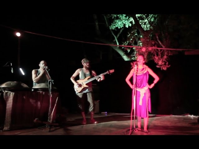 ALCHIMIX TRIBE in India - Ballade at Jungle Dance Café, Goa