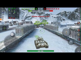 Т-34/85 и борьба с фпс || Летсплей 1 || World of Tanks Blitz