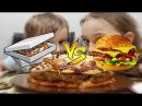 Пицца vs бургер/Pizza VS Burger PIZZA INSIDE A BURGER INSIDE PIZZA пицца своими руками пиццабургер