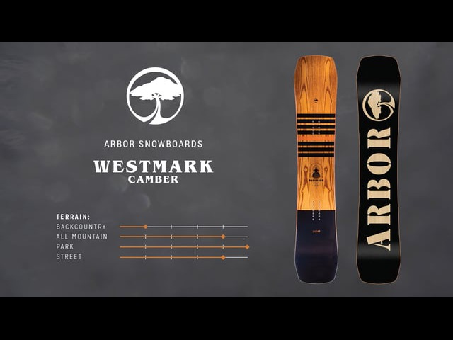 Arbor Snowboards :: 2018 Product Profiles - Westmark Camber Frank April Edt