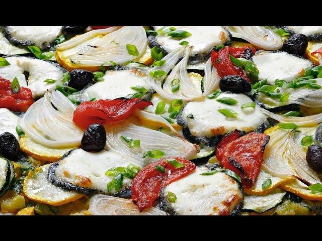 Pizza courgette et Sainte-Maure Alain Ducasse [Recette]